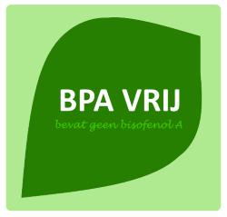 BPA-vrij logo van zonderbpa.nl