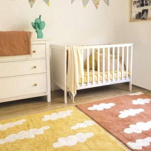 babykamer kleed eco geel